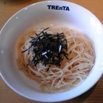 トレンタ - タラコスパゲティ:780円+税8%【2017年1月撮影】