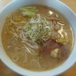 麺屋 朱雀 - 味噌ラーメン(750円)
