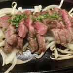 61874574 - 桜肉の激レアカルビステーキ