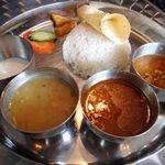 カジャ ガル - ネパールのご飯セット 790円
