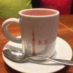 61876634 - スカイツリープリントのコーヒーカップ