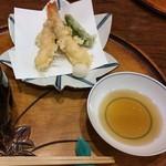 すっぽん鍋 鱧料理 三栄 - 天ぷら