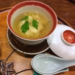 すっぽん鍋 鱧料理 三栄 - かぶら蒸し