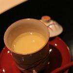 乃木坂 しん -  鯛の茶碗蒸し