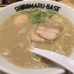 イップウドウ シロマル ベース - シロマルベース+味玉