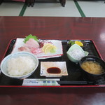 池田丸 - 刺身定食