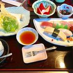 源太ずし - 料理写真:寿司・天ぷら御膳