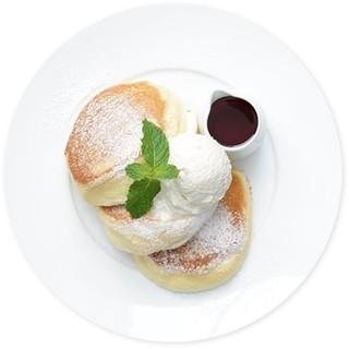 『幸せ』をたっぷり込めたパンケーキ