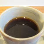 オーガニックカフェギャラリー地球 - CHIKYU ORGANIC COFFEE BLENDアップ