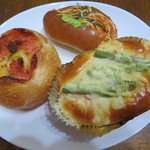 シェーンブルク - 料理写真:パン