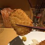 Grill & Kitchen かぼちゃの馬車 - コロッケも甘みが強くて美味しいですねー