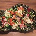 香家 - 海鮮と湯葉の香家サラダ