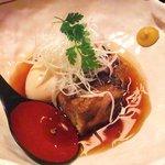 香家 - もち豚の角煮と半熟煮玉子