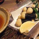 香家 - 大和芋の磯辺揚げ