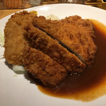 Grill & Kitchen かぼちゃの馬車 - 本日の日替わりはロースとんかつとコロッケですよ