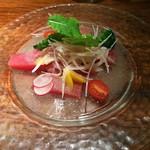 料理菜々 きりん - 本日のおすすめカルパッチョ(850円~)