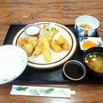 江戸っ子 - 料理写真:ミックスフライ定食