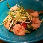 料理菜々 きりん - 北海道産貝柱のサラダ(850円)