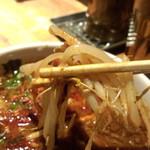 カラシビつけ麺 鬼金棒 - モヤシ