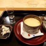 霞町 しろう - スッポンの茶碗蒸し
