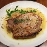 61881914 - 【ランチ】                       豚ロースのソテー マスタードソース マッシュポテト添え