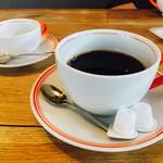 ihana cafe - 巨大カップのホットコーヒー¥500(税別)