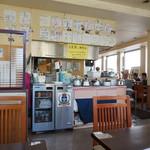 軽食の店 ルビー - お冷などはセルフで(お茶と冷たい紅茶もありました♪)
