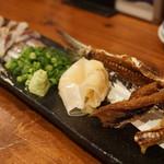魚寿司 - イワシ炙り刺(650円)