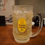 魚寿司 - いつものハイボール(421円)
