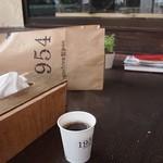 石窯パン工房くすくす - サービスのコーヒは(^^)やっぱ嬉しい