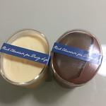 cacao - 生チョコぷりん!  ホワイトチョコ、ビターチョコ 各300円 外税