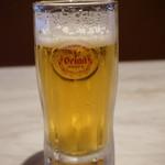 ステーキハウス88 - オリオンビール(648円)