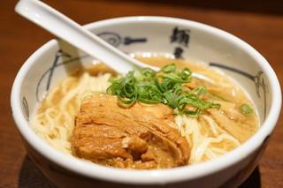 麺屋武蔵 芝浦店 - ら〜麺 (¥860)