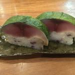 佳肴岡もと - 料理写真:この鯖寿司美味しかったな〜! また食べたい(*^^*)