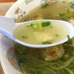 みぶのおばちゃんち - スープはあっさり