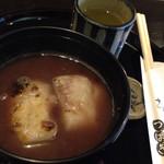 大正軒 - 餅ぜんざい(600円)