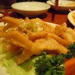 広東料理 海栄 - ナンコツの唐揚げ
