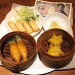 上龍酒家 - 料理写真:ミニ点心セット