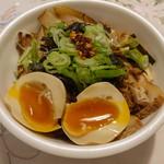 銀乃月 - お持ち帰りの特製炙りチャーシュー丼