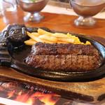 ステーキハウス ブロンコビリー - 料理写真:炭火焼がんこハンバーグ