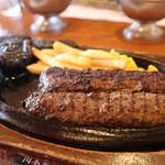 ステーキハウス ブロンコビリー - 炭火焼がんこハンバーグ