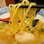 友 - 麺/あご出汁醤油ラーメン
