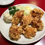 紅宝石 - 若鶏の唐揚げ ¥700