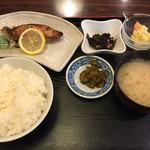 魚料理 星丸くん - 銀ダラ焼定食(税別750円)