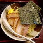 61897316 - 特製濃厚にぼしつけ麺(並)