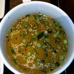 61897385 - 50日熟成牛カツ膳のスープ