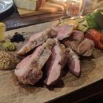 コマザワ パーク カフェ - 本日の豚肉…イエガー豚200グラム 1800円