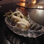 みかづき - ジャガイモのブルーチーズソース