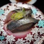元祖寿司 - いわし