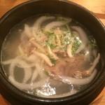 くんむる食堂 サンギュ - テールスープ